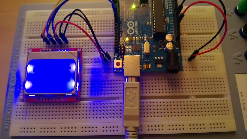 Arduino w Nokia LCD
