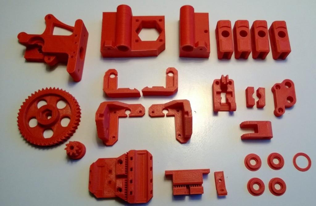 Prusa i3 plastic parts